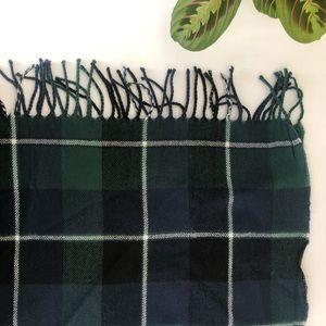 ‼️ NWT Green and Blue Plaid Shawl